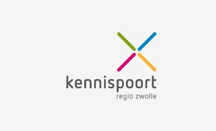 Kennispoort_Zwolle_Logo